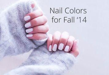 Influenster Picks: Nail Colors for Fall '14