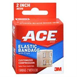 ACE Elastic Bandage w/clips 207310, 2 in