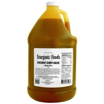 Starport Foods Coconut Curry Sauce - Gluten Free, 1 gallon (NET WT 9.0 lb, 144 oz)