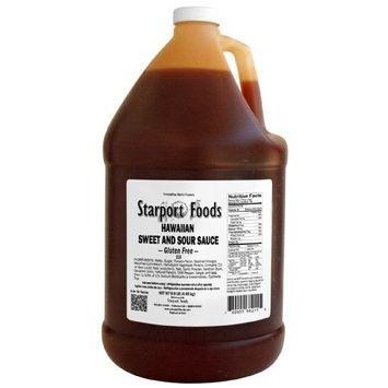 Starport Foods Hawaiian Sweet and Sour Sauce - Gluten Free, 1 gallon (NET WT 9.9 lb, 158 oz)