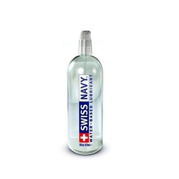 SWISS NAVY Premium Water Based Lubricant (32oz) PLUS FREE 2oz Bottle