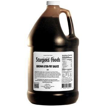 Brown Stir-fry Sauce - 1 Gallon, Net Wt.8.6 Lbs.