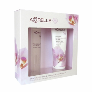 Acorelle Eau Fraiche Gift Set, White Orchid, 1 set