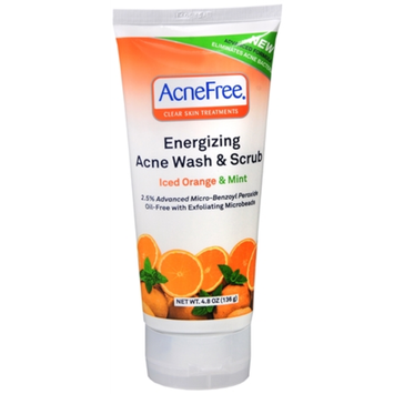 University Medical AcneFree Energizing Acne Wash & Scrub