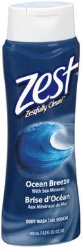 Zest® Ocean Breeze with Sea Minerals Body Wash