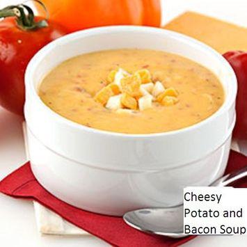 Powdered Soup Mix (Cheesy Bacon Potato Soup, 5 LB)
