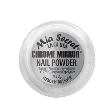 Mia Secret Chrome Mirror Powder Silver 2g (CH-04)