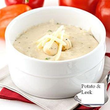 Powdered Soup Mix (Creamy Potato and (&) Leek Soup, 2 LB)