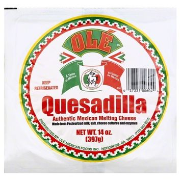 Ole Mexican Quesadilla Cheese, 14 Oz.