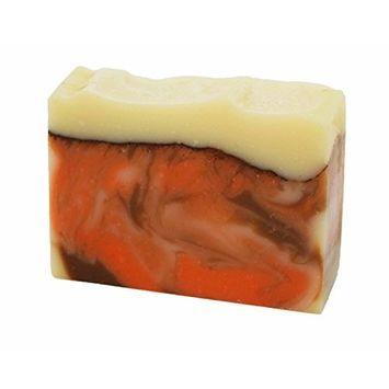 Crackling Cedar Handmade Artisan Luxury Mens Gift Soap Bar by Score Soap