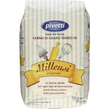 All-Purpose Italian 00 Flour by Pivetti (2.2 pound) - Pack of 2
