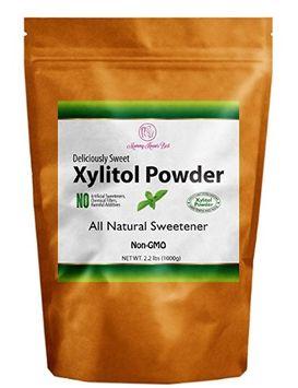 Mommy Knows Best Xylitol Sweetener Powder - 100% Pure Crystals - NON-GMO Sugar Alternative (16 oz)
