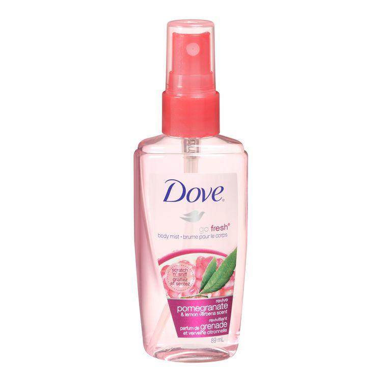 Dove Go Fresh Revive Body Mist Reviews 2020