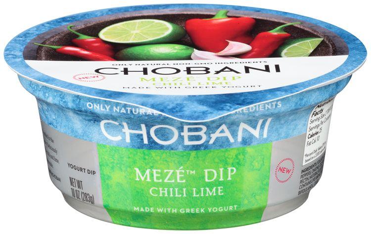Chobani® Meze™ Chili Lime Greek Yogurt Dip