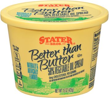 Stater bros® Better than Butter 58% Vegetable Oil Spread