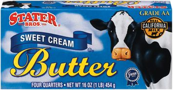 Stater bros Sweet Cream 4 Quarters Butter