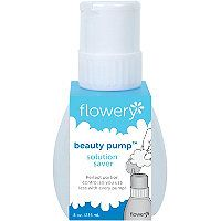 Flowery Beauty Pump Solution Saver Nail Polish Remover