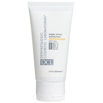 Dermatologic Cosmetic Laboratories SPF 50 Plus DCL Super Sheer Sunscreen