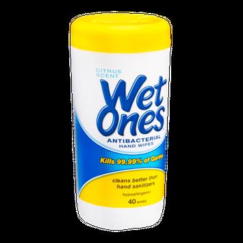 Wet Ones Antibacterial Hand Wipes - 40 CT