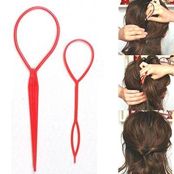 DZT1968 Magic Hair Twist Styling Clip Stick Bun Hairstyle Maker Braid Tools