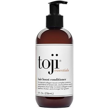 Toji: Essentials Hair Boost Conditioner w/Special Collagen Boost Complex | Naturally Supports Hair Growth & Anti Hair Loss Prevention For Men and Women