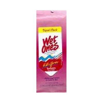 Wet Ones Antibacterial Moist Wipes - Fresh Scent 15-Count (Pack of 12)