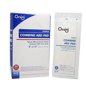 Orsini Select Sterile Combine ABD Pads, 8