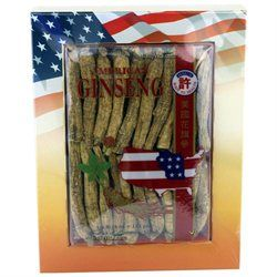 Hsu's Ginseng - Long Cultivated American Ginseng Roots Small, 4 oz. - #2