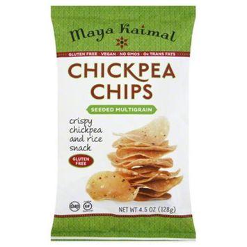 Maya Kaimal Chickpea Chips Seeded Multigrain 4.5 oz - Vegan