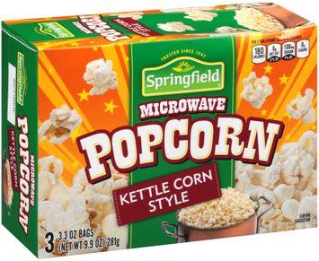 Springfield® Kettle Corn Style Microwave Popcorn s