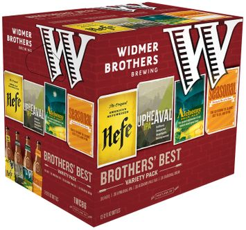 Widmer Brothers Brewing Brother's Best Variety Pack Beer 1