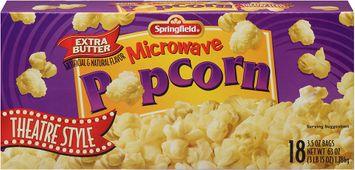 springfield® microwave popcorn theater style