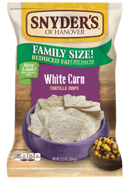 Snyder's Of Hanover White Corn Tortilla Chips