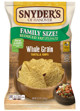 Snyder's Of Hanover Whole Grain Tortilla Chips