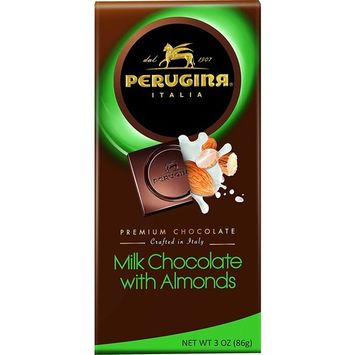 Perugina Milk Almonds Bar, 3 Ounce (Pack of 12)