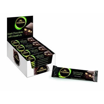 Perugina Mini Bar with Hazelnuts, Dark, 1.23 Ounce (Pack of 36)