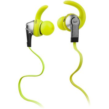 Monster Cable 128951 iSport Victory In-Ear Headphones - Green