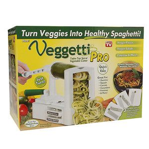 Ontel As Seen On Tv! Veggetti Pro Vegetable Spiralizer