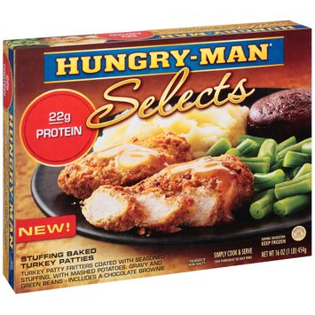 Hungry-Man® Selects Stuffing Baked Turkey Patties