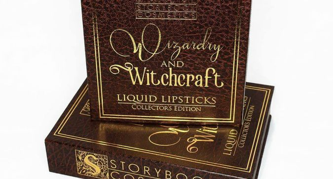 Storybook Cosmetics Launches New Wizard-Inspired Lipsticks