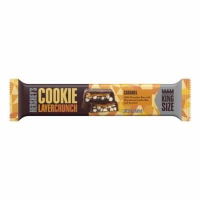 Hershey's Cookie Layer Crunch, Caramel Milk Chocolate Candy, 2.1 Oz