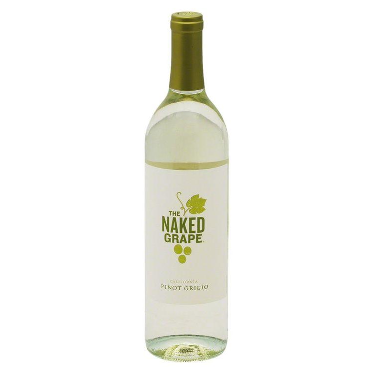 Gallo The Naked Grape California Pinot Grigio Wine 750 ml
