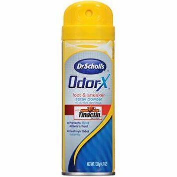4 Pack Dr Scholls Odor X Destroy Foot & Sneaker Deodorant Sport Spray 4.7oz Each