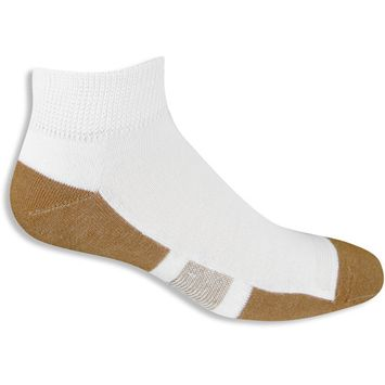 Men's Athletes Foot and Odor Cupron Ankle Sock 1 Pair