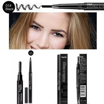 Msmask Professional Double Headed With Brush Automatic Rotating Eyebrow Pencil Cosmetic
