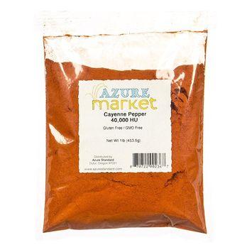 Azure Market Cayenne Pepper 40,000 HU - 1 lb