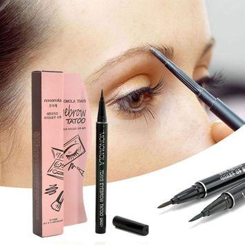 Msmask Eyebrow Tattoo Pen Pencil Brush Upgrated 7 Days Daily Amazing Tint Long Lasting