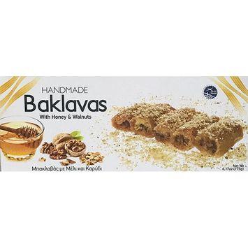 Sweet Handmade Baklavas! With Honey & Walnuts! Delicious Dessert! Product Of Greece!