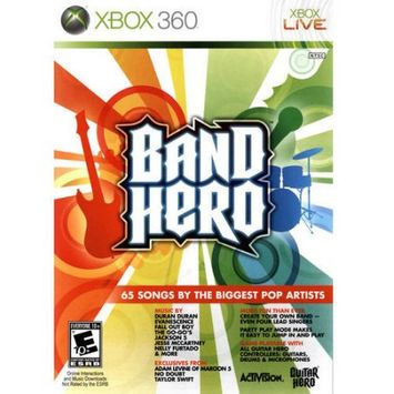 Neversoft Entertainment Band Hero (Xbox 360) - Pre-Owned - Game Only