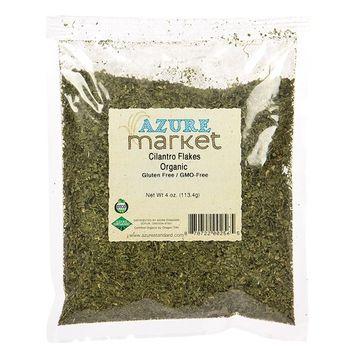 Azure Market Organics Cilantro, Flakes, Organic - 1 lb